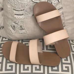 Neutral JCrew Sandals